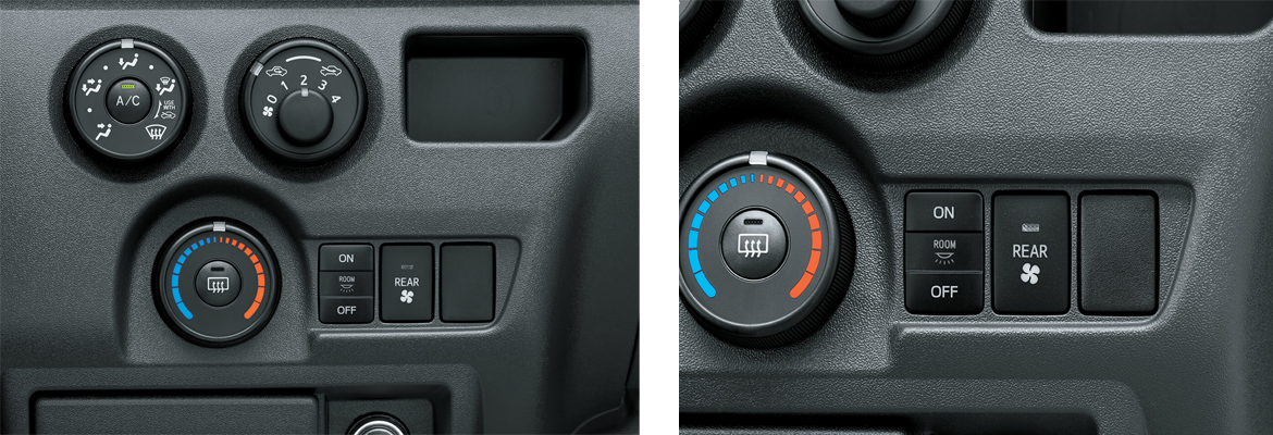 Dual AC with Dial-controls-with-center-buttons