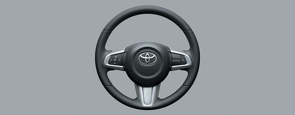 Steering Wheel with Switches